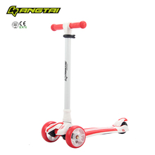 BEST SELLER 3 wheels kids scooter/min pedal kick bike scooter with 100% new PP+Nylon
