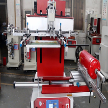 High Quality Fire Extinguisher Curved Surface Silk Screen Printing Machine Printing <strong>Equipment</strong>