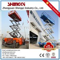 Muilt-functional hydraulic scissor Lift freight elevator lift for sale