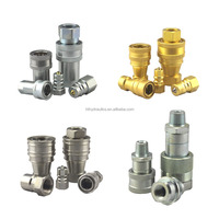 HT Brand Hose Fitting Quick Coupler Hydraulic Quick Release Coupling