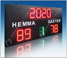 Basketball electronic Scoreboards and matrix LED signage