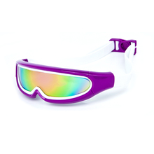 Top quality new design cool funny wide view children big swimming goggles for kids