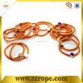 hot selling in Europe of elastic rope of curly hair band