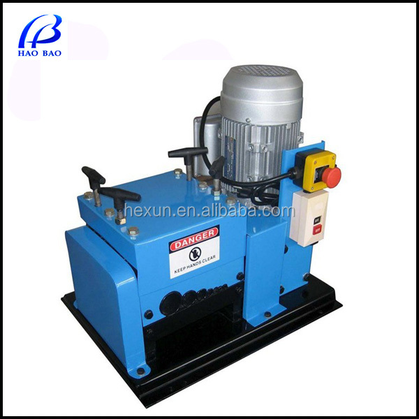 HW-007 Hot Sale used wire stripping machine and cable making equipment for sale in USA (CE certification)