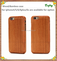 Cell phone accessories hand made Wood Case cover for iphone 6 factory in China,colorful detachable wood mobile phone case cherry