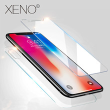 3D High Definition Tempered Glass 5S 5 SE Plus 4S For iphone X 8 7 6 Plus case front and back Screen protector Protective Film