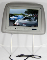 High resolution 9 inch wide screen car headrest monitor with Remote Control