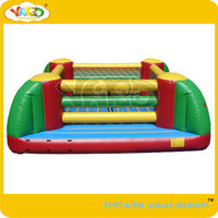 Inflatable interactive_inflatable boxing ring game