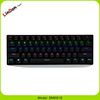 Profesional mechanical colorful bluetooth keyboard for laptops