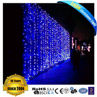 led curtain light stage curtain Waterproof Connectable LED Curtain Lights