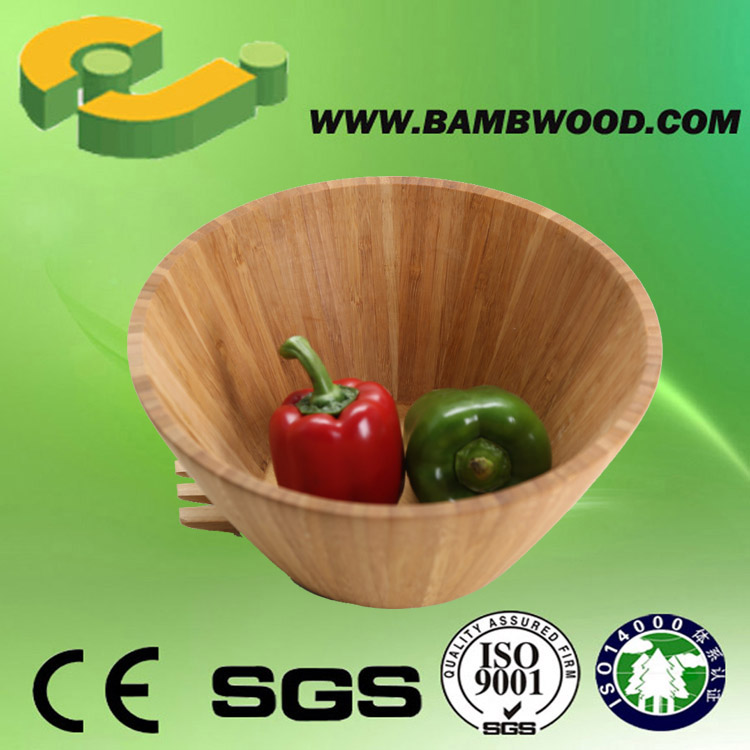 New Style Chinese Ceramic Bowl With Bamboo Lid Wholesale