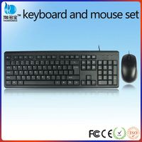 Waterproof USB mouse keyboard combo for computer