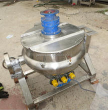 industrial electric steam gas stainless steel Industrial jam steam cooker