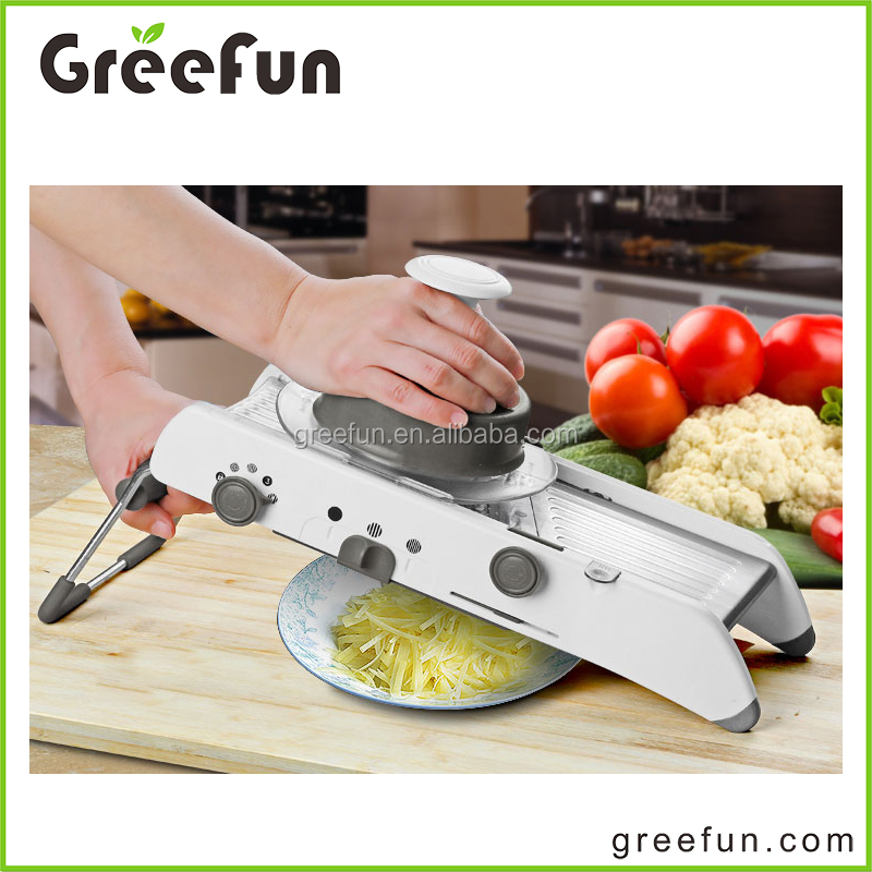High Quality Vegetable Slicer As Seen On TV , Wholesale Culinary Cooking Tools Professional Gadget Adjustable Mandoline Slicer