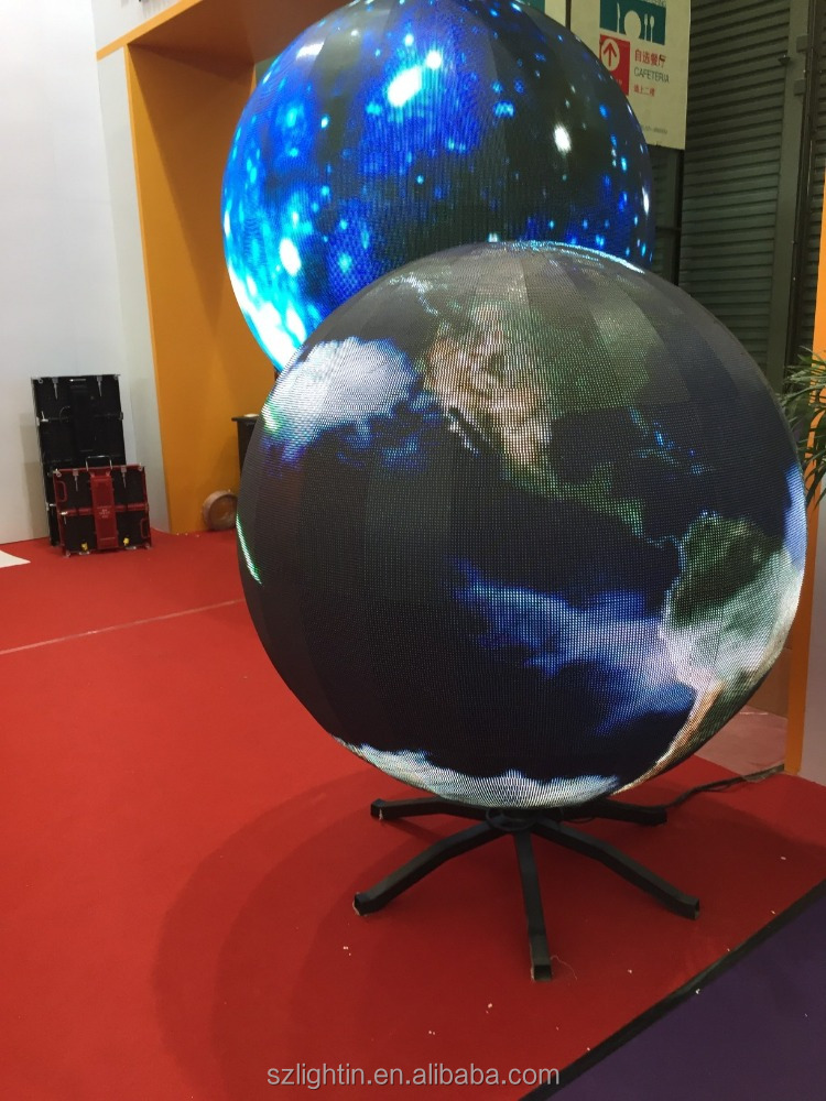 led projector high resolution HD p5 xxx Spherical LED electronic display
