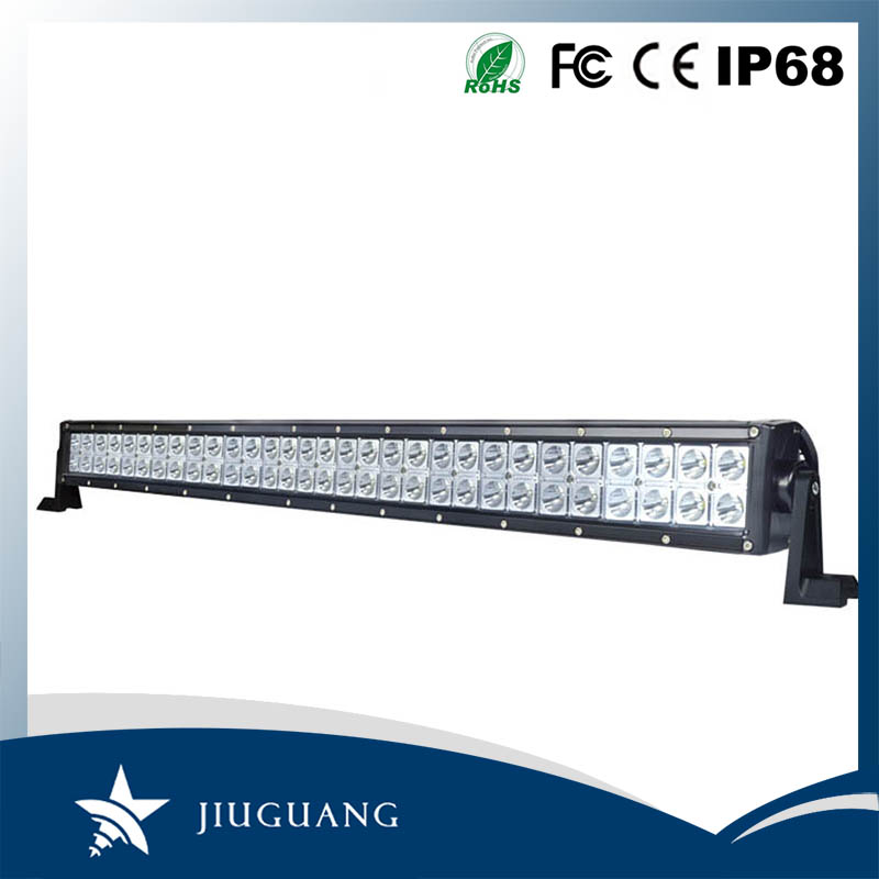 lighting 500 metres dual row 288w 52 inch ip67 off road led light bar with flexible arm