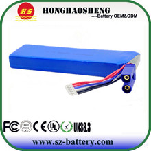 Long cycle life 11.1v battery lithium ion 18650 battery pack 18ah replacement batteries