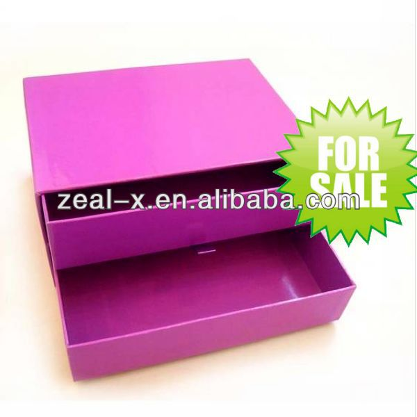 High quality window curtain packaging box or case