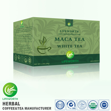 Lifeworth USA NER FORMULA natural organic tonic tea maca extract sex white tea by excellent package designer