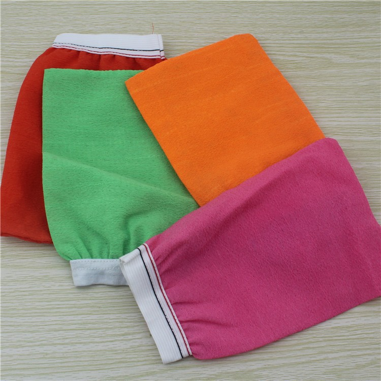A404 Most coarse hammam scrub mitt exfoliating bath glove/Shower Wash Spa Massage Bath Gloves