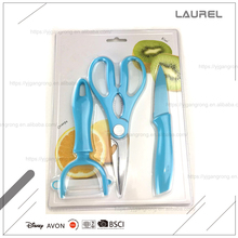 Kitchen tool set peeler paring knife &scissors