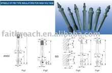 Made in China --- ceramic spindle of pin type insulators