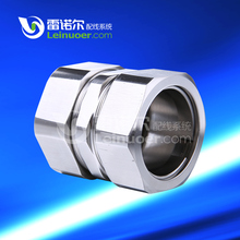 304 stainless steel joint m20 connector for thin steel conduit