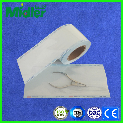 Disposable sterile wrapping tubing for dental products china selling