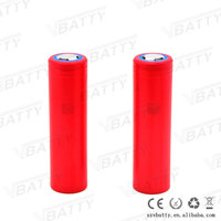 High capacity 3500mah Sanyo NCR18650GA lithium ion battery 18650 3.7V battery cell 18650 battery for e cig pk lg he2