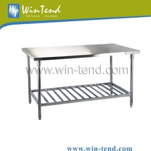 Food Processing Stainless Steel Working Bench Table