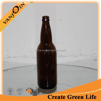 Long Neck Amber Glass 65cl Beer Bottle Customized
