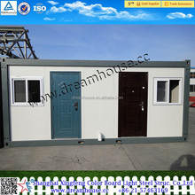 High quality 20 feet flat pack homes container house/container housing unit