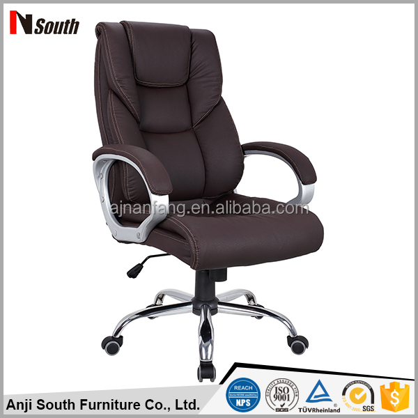 Popular simple design manager chair pu leather executive chair office furniture