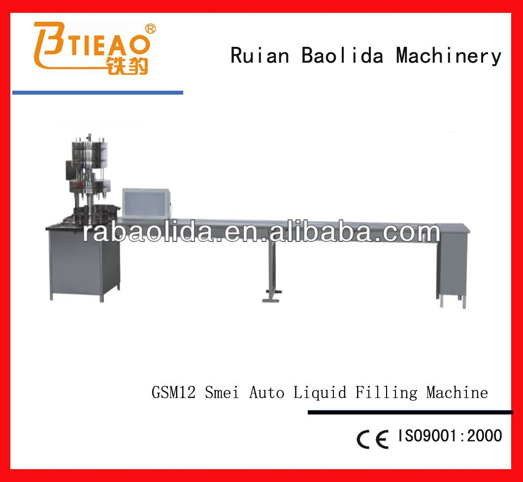 GSM-12 Semi-automatic Filling Machines for Wine