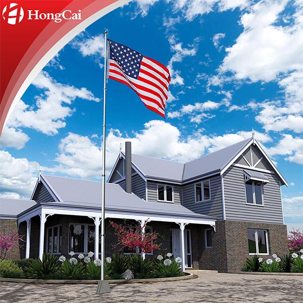25' Telescope National American Flexible Flag Pole
