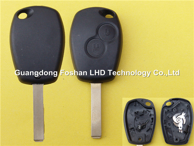 Renault remote key cover case with 2 button without logo