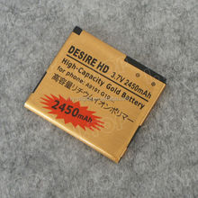 Gold battery Brand new gb t18287-2000 mobile phone battery for HTC Desire HD internal battery