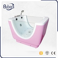 New design good quality dog tub,popularity size dog grooming bathtub