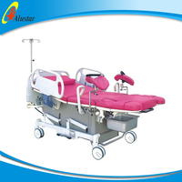 ALS-OB103 Adjustable Portable Electric Examination Couch gynaecological examination bed