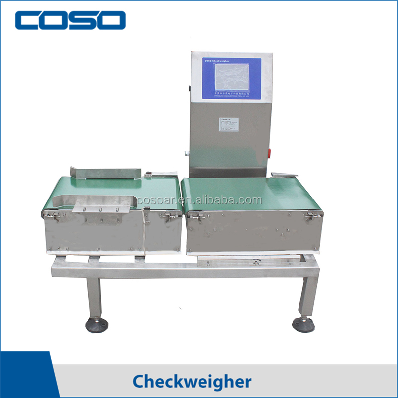 Digital conveyor belt automatic check weigher price manufacturer