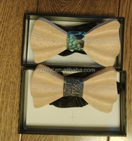 new fashion Customized Wooden Bow Ties for men wholesale price