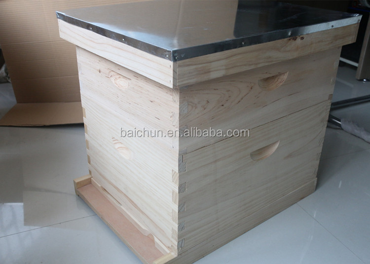 10 frame beginner beekeeping bee hive kit buy langstroth bee hive 10 frames fir bee hive for - Beekeeping beginners small business ...