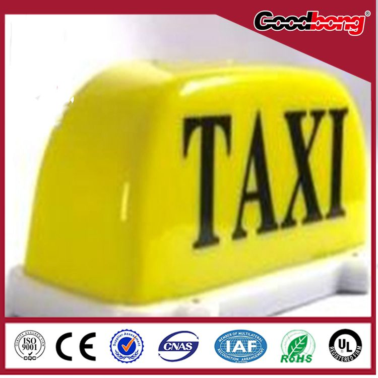 hot sale Taxi top magnet bottom led display taxi light box