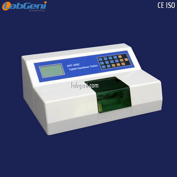 Drug Tablet Hardness Tester with blue LCD large-screen graphic display DHT-200C LabGeni