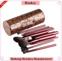 Box make up brushes rose gold 12pcs makeup brush set