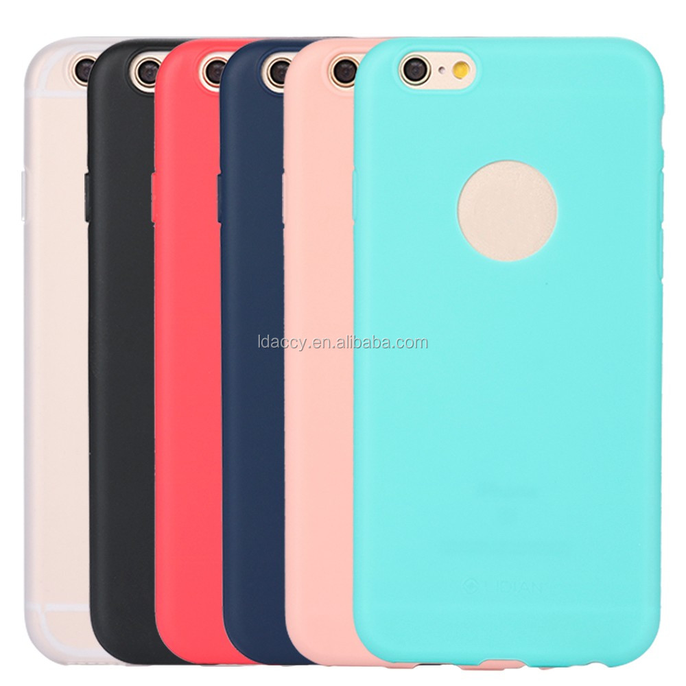 Popular Color TPU Phone Accessories Mobile Case For iphone7 plus