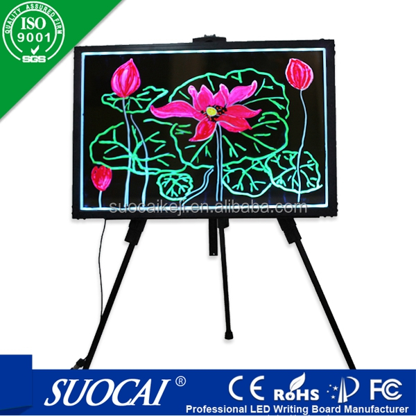 2015 new electronic innovative new product sidewalk signs led programmable sign display board