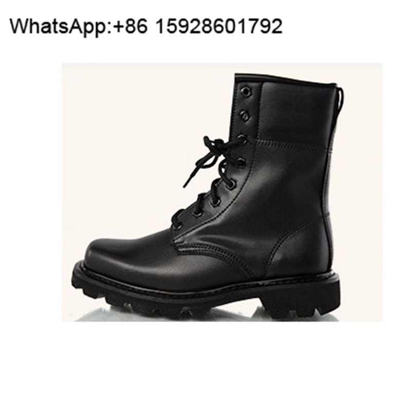 Spring Summer Men Leather Tactical outdoor Combat Ankle Boots OCA119