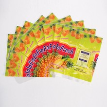 Wholesale printing plastic bottle wrap sleeve cheap custom food labels