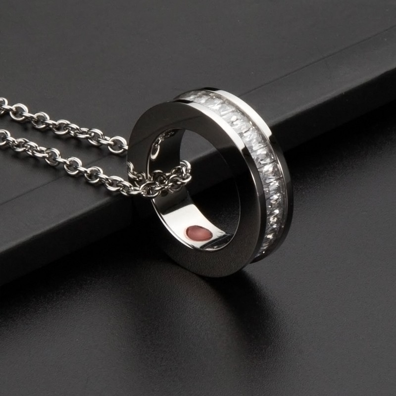 Magnetic power stone necklace pendant